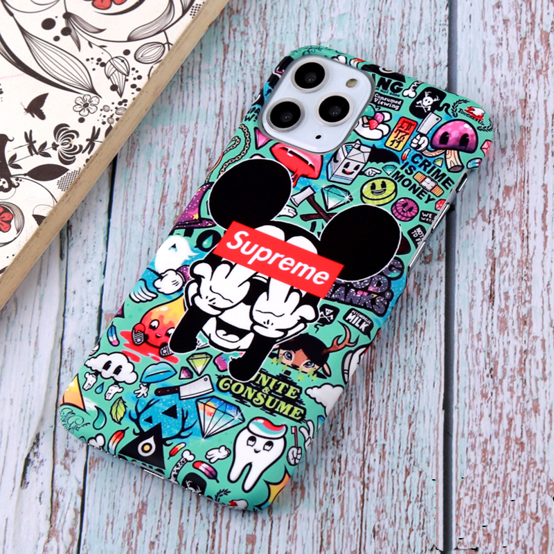 supreme mickey iphone 11 proケース