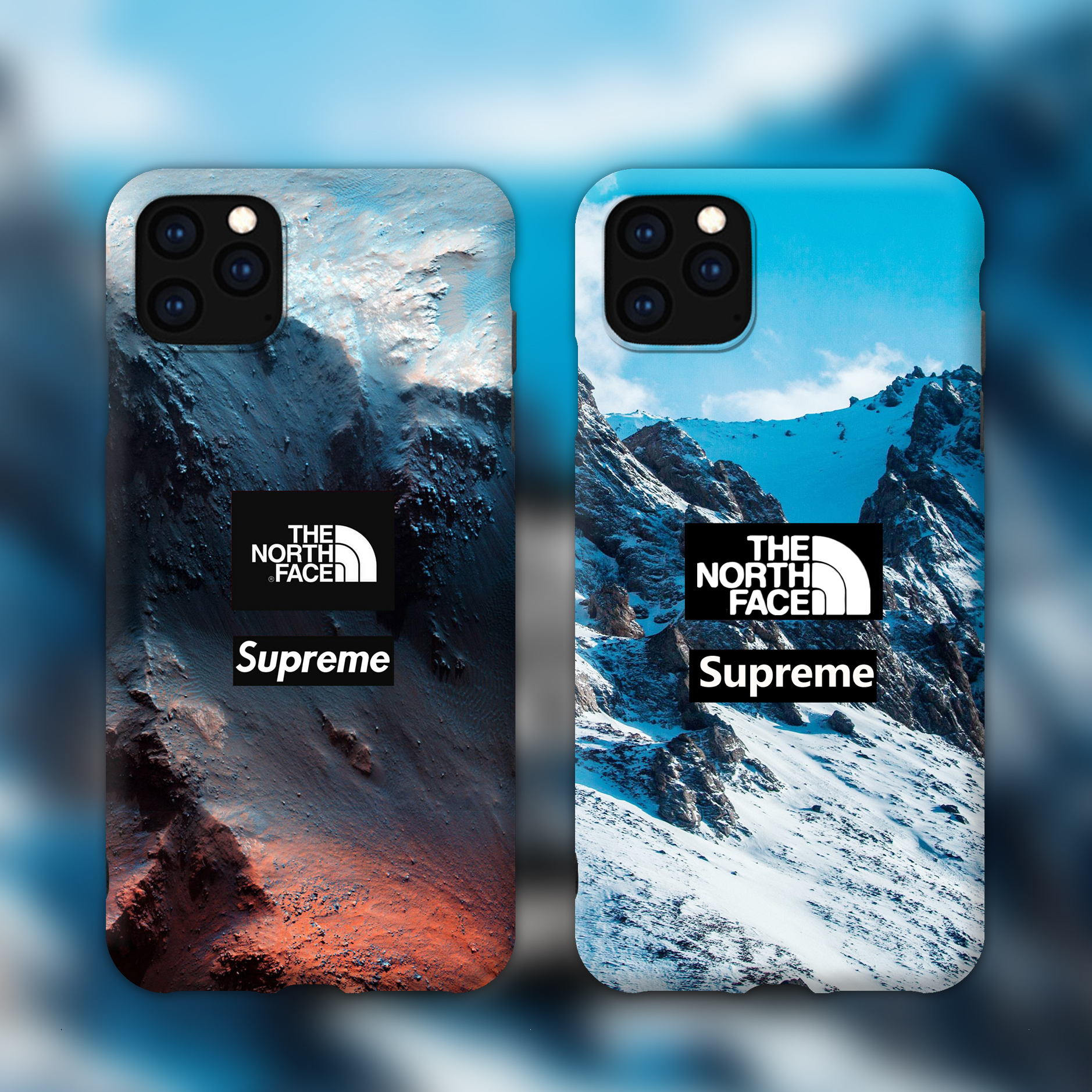 The North Face supreme iphone 11 proケース